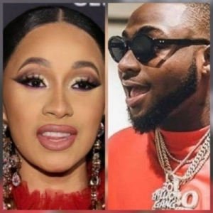 Davido - Fall (Remix) ft. Cardi B